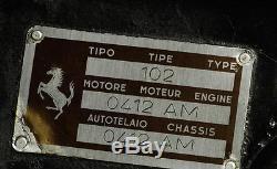 1/43 KIT WHITE METAL FERRARI 375 MM Spyder 0412 no amr bosica hiro