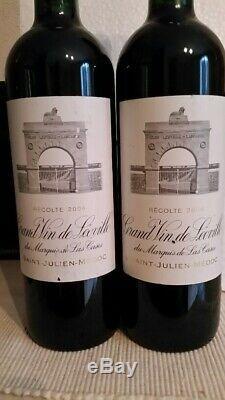 1 bouteille de LEOVILLE LAS CASES 2004
