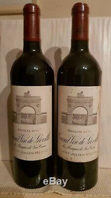 1 bouteille de LEOVILLE LAS CASES 2010