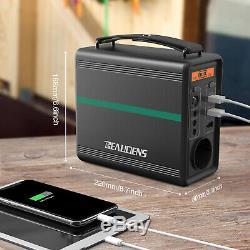 166Wh Générateur Batterie Portable Groupe Eléctrogène Alimentation de Secours FR