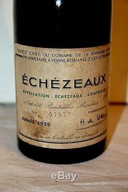 1959 Domaine Romanee Conti Echezeaux 1959