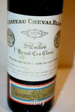 1979 Chateau Cheval Blanc Grand Cru Classe A Saint Emilion 1979