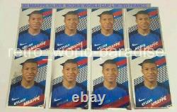 2018 PANINI MBAPPE Rookie x8 stickers NEW MINT WORLD CUP RUSSIA 2018 LIMITED