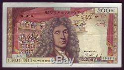 A15+ Billet 500 Nouveaux Francs Moliere 2 Juillet 1959