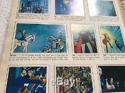 Album PANINI Lady Oscar + Poster Very rare Et Complet Comme Neuf