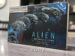 Alien L'intégrale Coffret 6 films Edition Collector Blu-ray + goodies collector