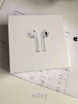 Apple AirPods 2 Écouteurs sans Fil Neuf Sous Blister Facture Original