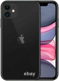 Apple IPHONE 11 128GB France Noir LTE Neuf Original Smartphone Ios 13