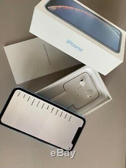 Apple iPhone XR 64 Go Bleu (Désimlocké) / neuf avec facture Apple France