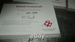 Aroutcheff&Berthet-La Porshe 356&Pin up, Dottie Las Vegas-Numérotée-Boite&Certif