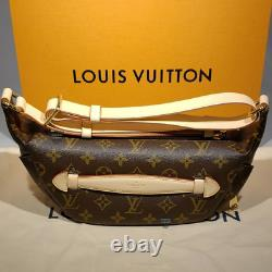 Authentic Louis Vuitton Bumbag fanny bum bag monogram belt Sac