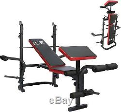 Banc de Musculation Multifonction Entraînement Complet Fitness Sport Accessoires