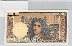 Billet France 500 Nf Nouveaux Francs 5.9.1963