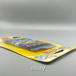 Blister Booster Pack Blastoise FRENCH Ed. 2 Pokemon SEALED SET BASE