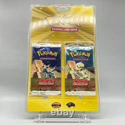 Blister Double Booster Pack Umbreon US Ed. 2 Pokemon SEALED Neo Discovery