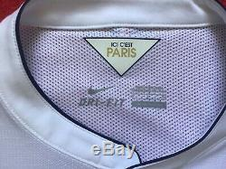 Bnwot Nike France Psg Paris 14/15 Away Dri-fit Ucl Match Player Issue, S