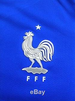 Bnwt Nike Fff Maillot Equipe France 16/17 Vapor Pro Stock Player Issue Match, M