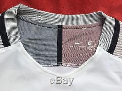 Bnwt Nike Fff Maillot Equipe France 17/18 Ls Vapor Pro Stock Player Issue Match