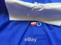 Bnwt Nike Fff Maillot Equipe France Centenaire Vapor Pro Stock Player Issue, M