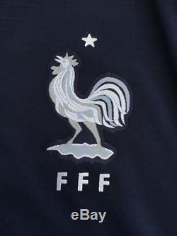 Bnwt Nike Fff Maillot Equipe France Wc 2018 Vaporknit Player Issue Jersey, S&m