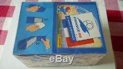 Boite Box Panini Neuve Complete 100 Pochettes World Cup France 98 1998