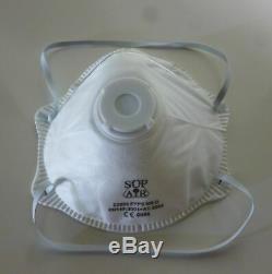 Boite de 10 masque respiratoire FFP2 a valve