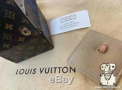 Boite etui souple de voyage Box Malle trunk Louis Vuitton Bijoux 2007 etat neuf