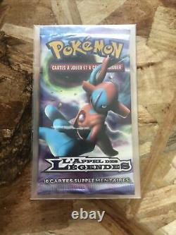 Booster Pokémon l'Appel des Légendes Deoxys, neuf, scellé, France