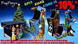 Borne Arcade Bartop + Socle Jeu vidéo Retro Gaming Neuf Garantie Cadeau Noël