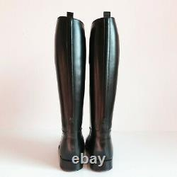 Bottes Weston French Police Boots Mollet M Calf Eu41 Us8 Uk7.5 Rob Leather Bluf