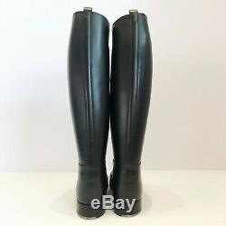 Bottes Weston French Police Boots Mollet XL Calf Eu43 Us9 Uk8.5 Rob Leather Bluf