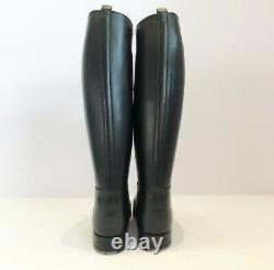 Bottes Weston Police French Boots XL Calf Fr 42 Us 8,5 Uk8 Leather Bluf Fetish