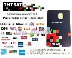 CARTE TNTSAT HD NEUVE pour décodeur satellite ASTRA