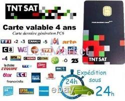 CARTE TNTSAT HD NEUVE pour décodeur satellite ASTRA, ENVOI IMMEDIAT