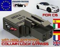 CORVETTE C6 steering column lock unlock eliminator bypass LS2 LS3 z06 chevrolet