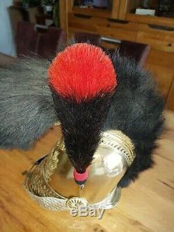 Carotte casque pompier