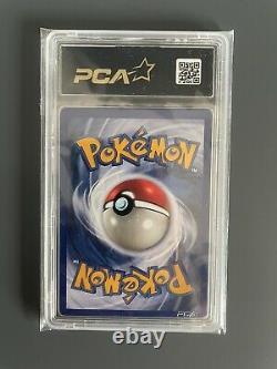 Carte Pokémon Mackogneur 8/102 Holo Édition 1 Set De Base Wizards PCA/PSA