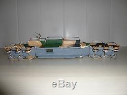 Cbg Mignot Neuf = Obusier De 400 Artillerie Lourde Sur Voie Ferree + 5 Poilus