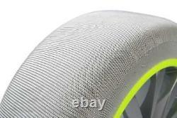 Chaînes neige chaussettes textile premium MUSHER Taille 8 (la paire) France