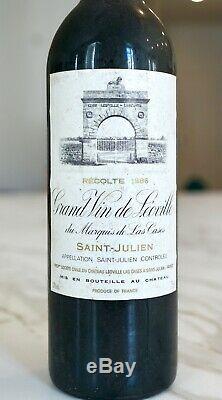 Château Léoville Las Cases Saint-Julien 2è Grand Cru Classé 1986 Parker 96