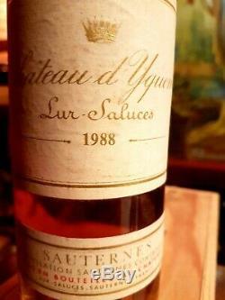 Château Yquem 1988 1er cru classé supérieur de Sauternes 75cl