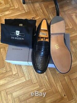 Chaussures Jm Weston En Crocodile Neuve