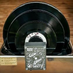 CleanGroove V2 Record Ultrasonic Cleaner Nettoyeur de vinyle à ultrason 45tr LP