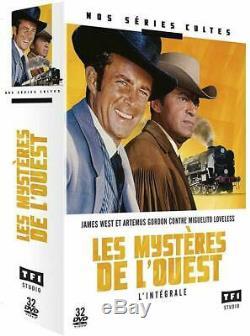 Coffret Dvd intégrale les mystères de l'Ouest, saisons 1 à 4 Neuf sous blister