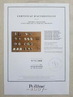 Coffret collector édition limitée L'ANE POILANE Vu par les artistes (21 fèves)
