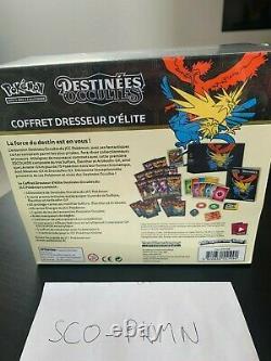 Coffret dresseur d'Élite destinées occultes 11.5 Neuf Scellé FR Pokémon ETB