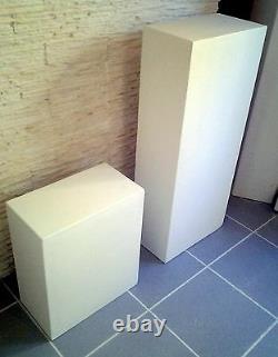 Colonne piédestal en STAFF (plâtre renforcé de fibres)support vase ou objet déco