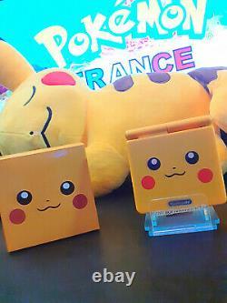 Console Nintendo Game Boy Advance SP Pikachu Limited Edition Pokemon