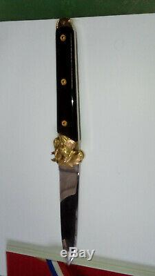 Couteau bicentenaire 1789 1989 Mongin N°737 Longueur plié 14cm ouvert 25cm