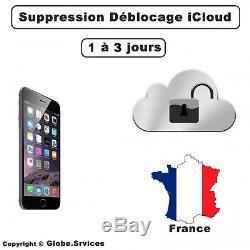 Déblocage iCloud Suppression compte iCloud iPhone iPad France Clean 1 à 3 jours